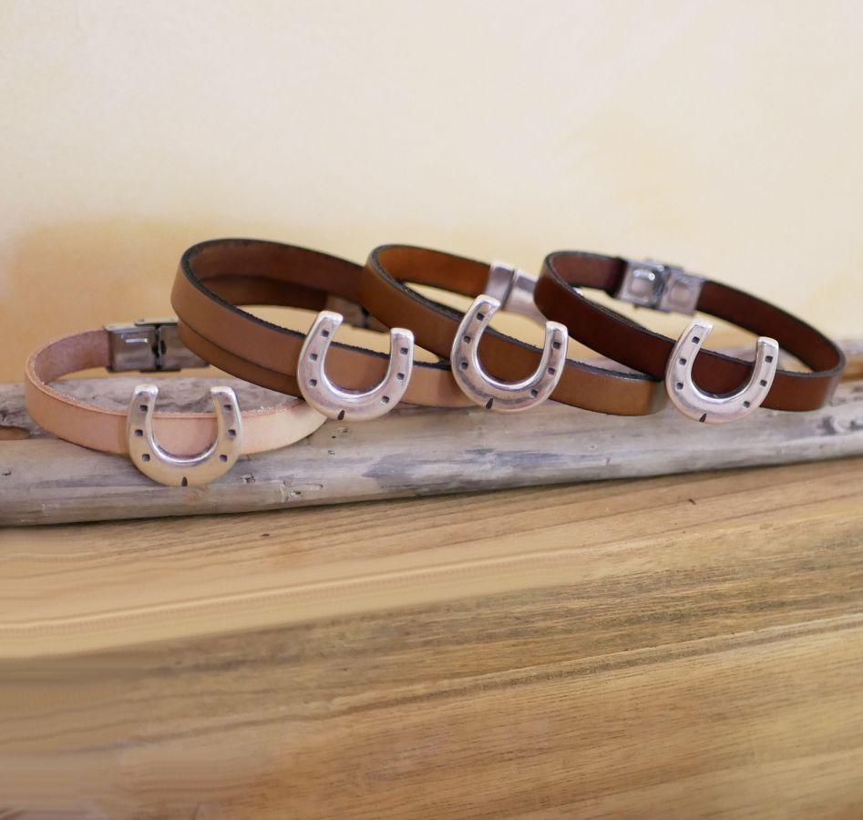 bracelet cuir equitation