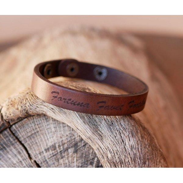 bracelet cuir gravure