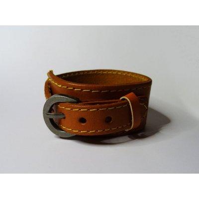 Bracelet cuir de force homme