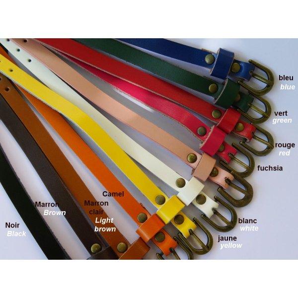Montre bracelet cuir entièrement à personnalliser