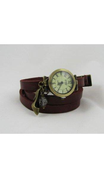 Montre bracelet Escarpin et perle cristal Swarovski