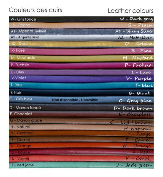 Montre cuir femme de créateur personnalisable et colorée
